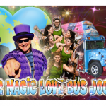 Blast Off Party for the 2012 Magic Love Bus Journey and the LovEvoluton!